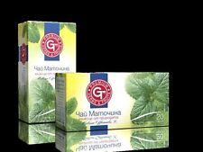 GT Premium Herbs & Tè Frutti 100% naturale a base di erbe e alla frutta da infusione MELISSA