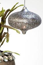 Hängewindlicht, Purley, Orientalisches Design, für Kerzen 32 cm, 60 cm Kette