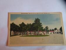 VINTAGE POSTCARD MAYFAIR MOTEL CONCORD NC linen Henry Ahrens