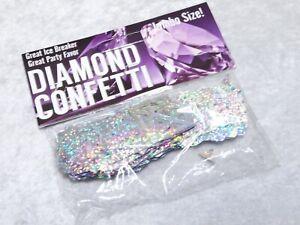 Jumbo Confetti Diamond Shape Confetti Party Favor Iridescent Prism
