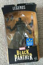 "MARVEL LEGENDS AVENGERS WALMART EXCLUSIVE 6"" BLACK PANTHER NEW HASBRO"