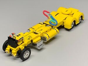 "1/64 DCP PARTS YELLOW 300"" PETERBILT 359/379/389  CHASSIS W/ SHOW FENDERS"