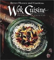 Wok Cuisine, Better Homes & Gardens, Very Good Book