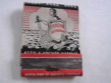 1940's Syrena Restaurant & Catering 4270-6 Archer Ave Chicago Il Empty Matchbook