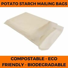 Compostable Starch Mailing Bags - 100% Home Biodegradable Packing Bio Bags