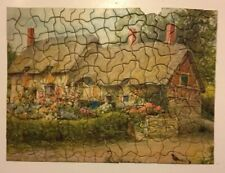 Vintage 1930s Tuco Art Picture Puzzle Ann Hathaway's Cottage Beautiful