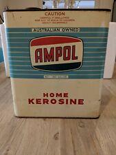 AMPOL 2 IMP GALLENS - HOME KEROSENE TIN