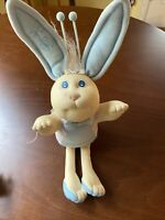 Vintage 1985 Cabbage Patch Kids BUNNY BEE Blue Socks Shoes Xavier Roberts