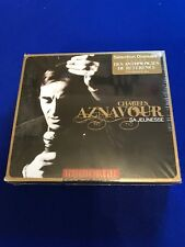 NEW SEALED Charles Aznavour - Immortal Characters (2011) 3 CD Damaged box