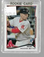 2014 Topps Update Mookie Betts rookie card - Red Sox
