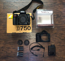 Nikon D750 24.3 MP Digital SLR Camera Body w/ Silicone Case - Low Shutter Count