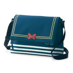 DISNEY Donald Flap Shoulder Bag Purse Pochette Pouch Japan Gift E7172