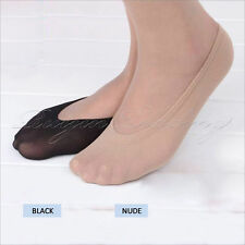 10 Pairs Womens Ladies Girls Shoe Liners Footsies Invisible Skin Thin Socks