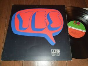 YES -SAME/S/T DEBUT LP -1969 Uk ATLANTIC K 40034 G/f + INSERT- PROG ROCK-Ex / Ex
