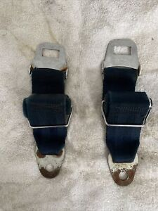 Pair 1966 1967 Mopar B Body Seat Belt Retractors Dodge Plymouth Chrysler