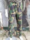 Genuine British Army Gore-tex Over Trousers DPM Breathable Waterproof Repaired