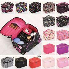 Women XL Beauty Cosmetic Makeup Case Travel Wash Toiletry Organizer Storage Box