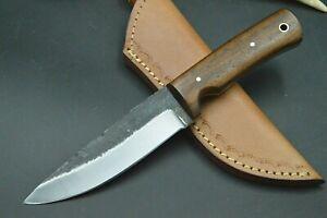 XL Mittelaltermesser Wikinger Larp Messer Carbon Stahl Messer Handarbeit #236