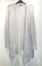 EILEEN FISHER Beige Linen Knit Cardigan sz M