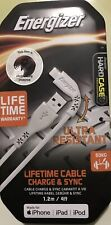 2x Energizer Lightning Ultra Resistant Cable 1.2m White. Lifetime warranty