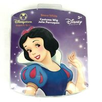 Disney Store Child Snow White Costume Hair Wig 3+ Pretend Play Halloween