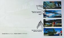 Canada Post, First Day Cover, Bridges - 2/4/2005