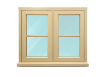 Timber Casement Windows- NEW- ANY SIZE*- £499 - Made to Measure -Fully Finished
