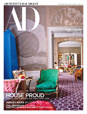 ARCHITECTURAL DIGEST April 2017 ASHLEY HICKS, Tino Zervudachi, Martyn Bullard