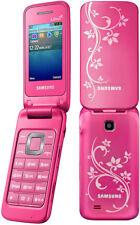 Original  Samsung C3520 2G GSM Cellphone Unlocked PINK free shipping