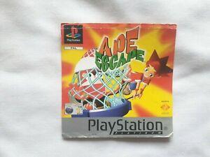 Case Artwork (Front Insert) - For PS1 game APE ESCAPE