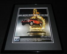 2005 Toyota Tacoma 4x4 Framed 11x14 ORIGINAL Advertisement Truck of the Year