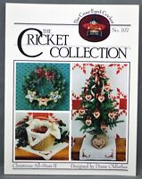 The Cricket Collection CHRISTMAS ALL STARS II Cross Stitch Pattern Leaflet 1992