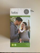 Boba Baby Wrap Carrier, Grey For Infants and Babies Up to 35 lbs (0 - 36 months)