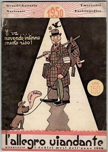 Umorismo-L'allegro Viandante Attraverso I Dodici Mesi Dell'anno-1950