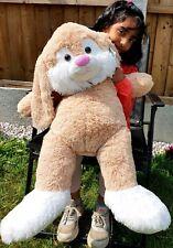 100CM 3.4ft Giant Huge Big Bunny Rabbit Easter Plush SOFT Toy Birthday Xmas