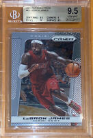 🔥2013-14 LeBron James PANINI PRIZM Chrome #65 BGS 9.5 w/ 10 sub PSA RARE Pop 22