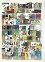 Quality Packet of 600 Different GB High Value Commemorative Used Stamps~