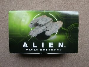 Nostromo - Alien U.S.C.S.S. Ship - Eaglemoss Hero Collector - Limited Edition ✅