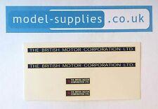 Spot On 106 Austin Prime Mover BMC Motor Company Ltd Reproduction Transfers Set