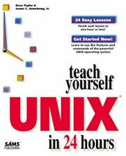 Teach Yourself Unix in 24 Hours