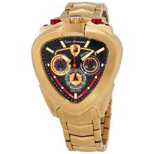 Lamborghini Spyder Black Dial Mens Chronograph Watch 12H-3