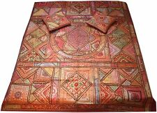 Sari bedspread indian bedcover patchwork tapestry bohemian hippie throw gypsie