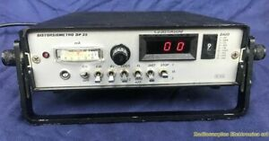 Distorsiometro per segnali telegrafici LETAS DP25.