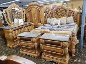 AICO by Michael Amini Trevi 5PC king size bedroom set