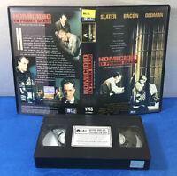 PELICULA VHS CINTA VINTAGE ESPAÑOL - HOMICIDIO EN PRIMER GRADO