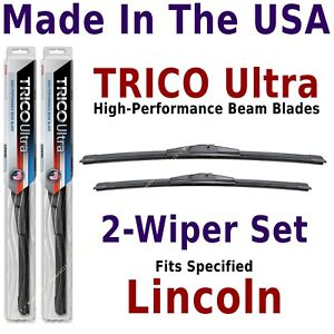 Buy American: TRICO Ultra 2-Wiper Set: fits listed Lincoln: 13-24-19