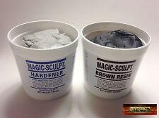 M02054 MOREZMORE 5 lb BROWN Magic Sculpt Sculp Epoxy Clay Model Putty T20