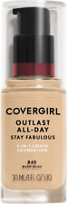 Covergirl Outlast All-Day Stay Fabulous Foundation, 845 Warm Beige EXP NO/21