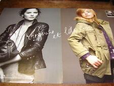 VIRGINIE LEDOYEN - Publicité de magazine VETEMENT !!!!!!!!!!!!!!!