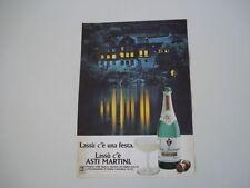 advertising Pubblicità 1979 SPUMANTE ASTI MARTINI